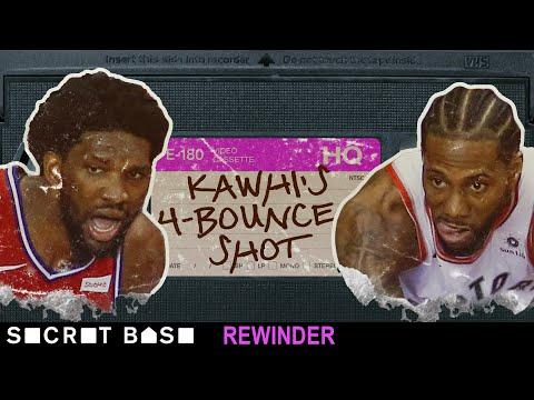 Kawhi Leonard's franchise-altering shot deserves a deep rewind   2019 Raptors vs. 76ers Game 7