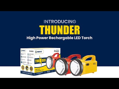 Thunder Rechargeable LED Torch