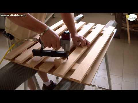 Come fare un cancelletto in legno