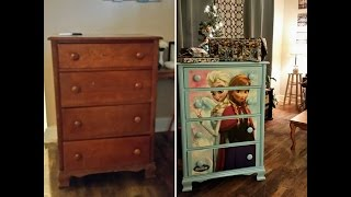Update Your Old Furniture #Frozen