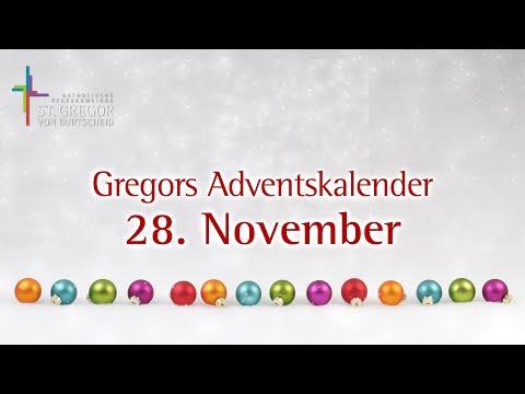 Gregors Adventskalender - 28. November