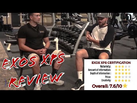 EXOS XPS Certification Review (Exos Performance Specialist ...