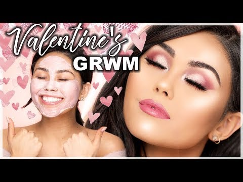 Last Minute Valentine's Day Makeup Tutorial | Roxette Arisa