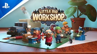 Little Big Workshop - Release Trailer | PS4
