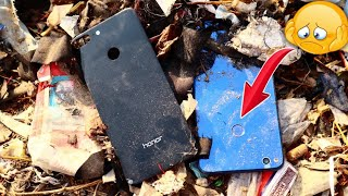 Found a lot of broken phones in the rubbish | Huawei honor 8 lite | Restoration destroyed phone