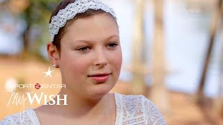 Steph Curry grants Ashley's selfless wish | My Wish | ESPN Archives