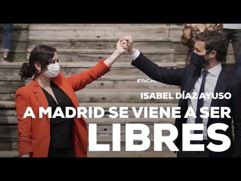 A Madrid se viene a ser libres