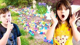 We TAKE Easter EGGS from STRANGERS HOUSES!