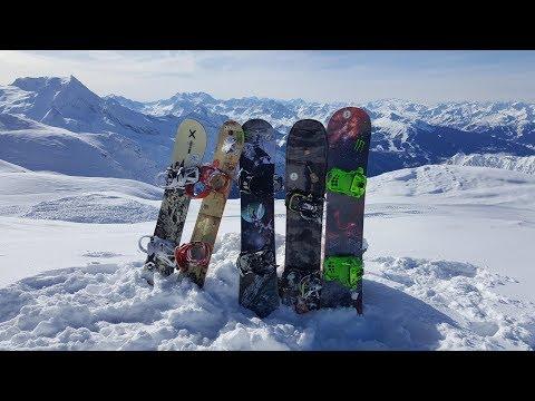 LesSybelles 2018 FreeRide Snowboard