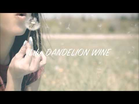 Dandelion Wine OFFICIAL (lyric video) HD