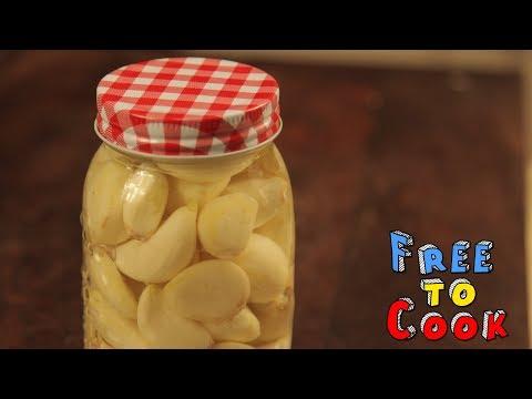 , title : 'How to Peel & Preserve Fresh Garlic - Food Tips