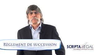 Liquidation d'une succession