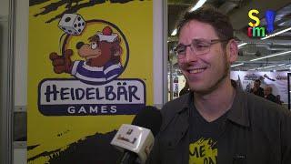 HEIDELBÄR GAMES im Interview - Heiko Eller-Bilz - Spielwarenmesse 2020 -Nürnberg -Spiel doch mal...!