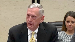 NATO summit. Remarks by NATO Sec. General and Defense Sec. Mattis in Brussels