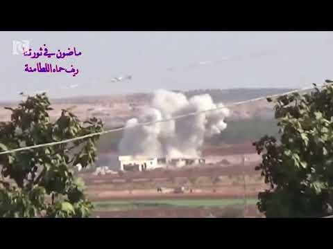 Syrian army shells rebel-held city in Hama