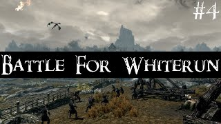 Skyrim PS4 Mods Playthrough | The Battle For Whiterun