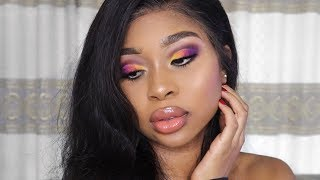 Colorful Summer Makeup Tutorial | Full Facebeat