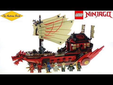 Vidéo LEGO Ninjago 71705 : Le QG des ninjas