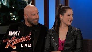 Guest Host Lena Waithe Interviews John Travolta & Daughter Ella Bleu