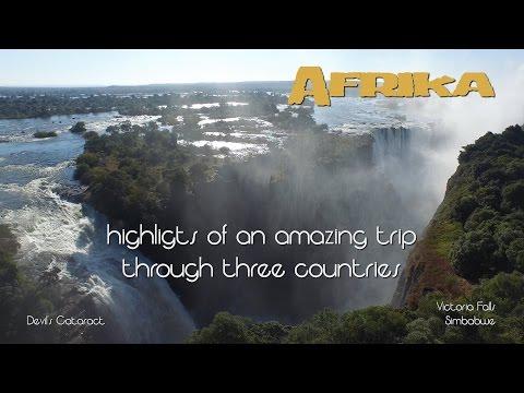 סרטון טיול באפריקה באיכות 4K