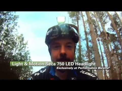 Seca 750 LED Bike Headlight Review