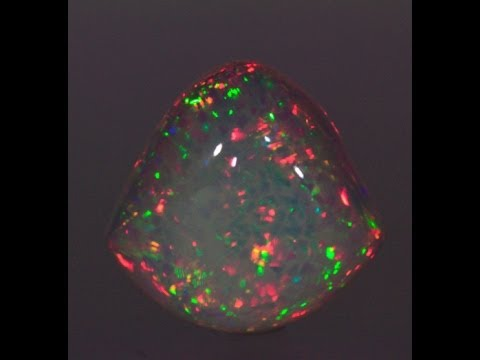 Shield Shape Welo Opal Weighs 29 Carats