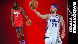James Harden, Ben Simmons, and Steven Adams Dominate In The Top NBA Highlights Of The Night