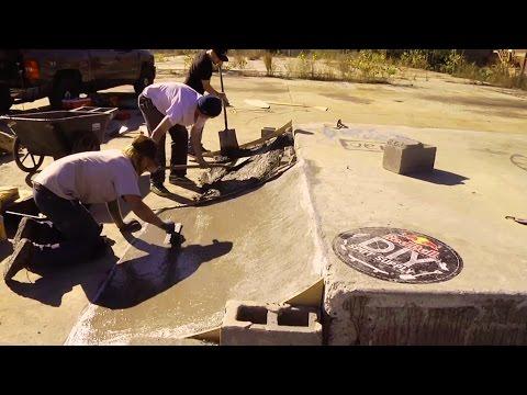 Skateboarders in Atlanta Build DIY Skate Spot
