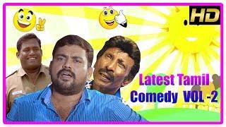Best Comedy Scenes 2018   Latest Tamil Comedy 2018   Vol 2   Rajendran   Robo Shankar   Kaali Venkat