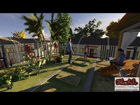 desain-taman-atap-rumah