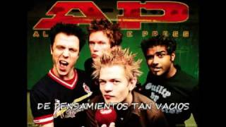 billy spleen-sum 41(letra en español)