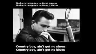 Johnny Cash - Country Boy (Lyrics)