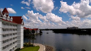 Walt Disney Worlds Grand Floridian Resort View Toward Contemporary