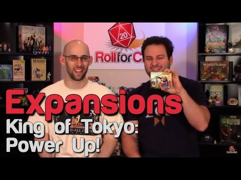 King of Tokyo: Power Up! - Roll For Crit Expansions