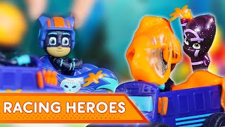 PJ Masks Creations 💜 PJ Masks Racing Heroes! | Play with PJ Masks