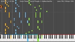 Dream Theater - Endless Sacrifice piano tutorial on midimelody