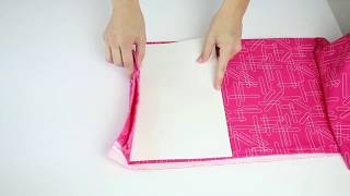 Easily Organize Your Fabric With This Quick Trick!