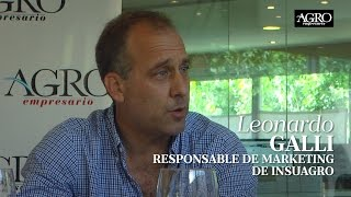 Leonardo Galli - Responsable de Marketing de Insuagro
