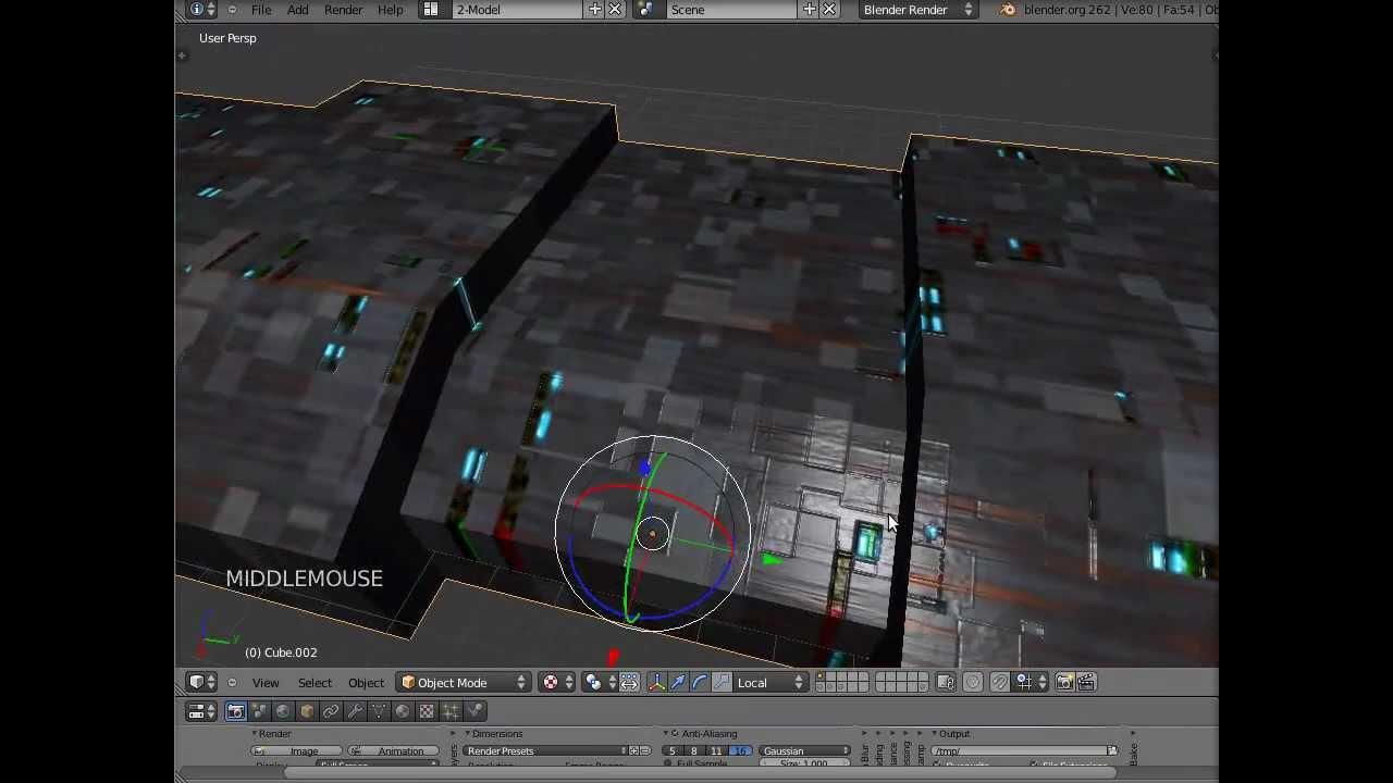 #14 Message Sensor & Actuator Tutorial - Blender Game Engine Grundlagen - Deutsch