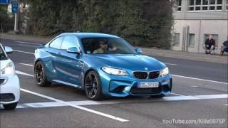 BMW M2 revs & lovely sounds 1080p