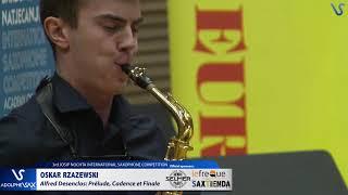Oskar Rzazewski plays Prelude, Cadence et Finale by Alfred Desenclos