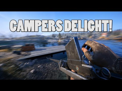 Campers delight - THE BOYS AT RIFLE gameplay - Battlefield 5