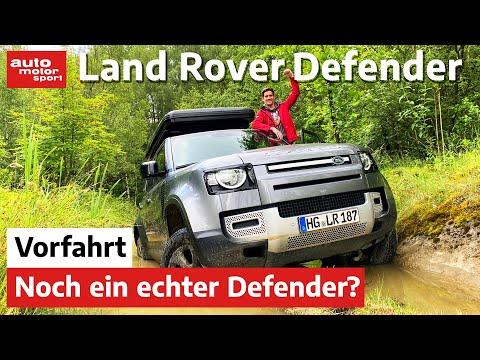 Land Rover Defender: Abenteurer oder Kinder-Taxi?   auto motor und sport