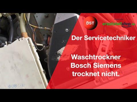 Waschtrockner Siemens trocknet nicht