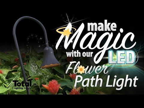 Make Magic with our LED Flower Path Light &#x1F33C