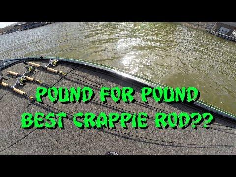 Best $50 Rod???   BnM Sharpshooter 6   Crappie Fishing