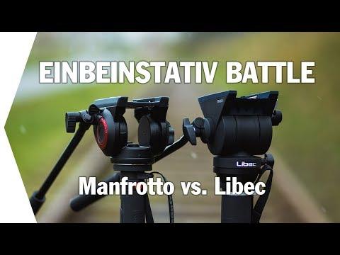 Manfrotto MVMXPRO500 vs. Libec HFMP I Einbeinstativ Vergleich (ENG SUBS)