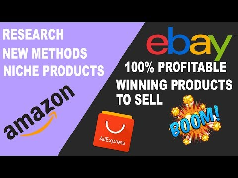 How To Find Pick Winning Hot 100% Profitable Items Niche Product To Sell On Amazon, Ebay, Etsy 2019
