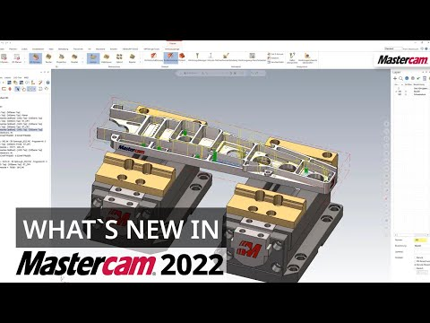 """What`s New in Mastercam 2022: """"3D Dynamisches Schruppen"""" jetzt auch für Fräsen und Router"""