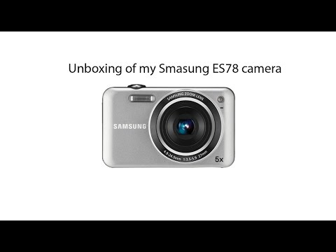 Unboxing of my Samsung ES78 Camera